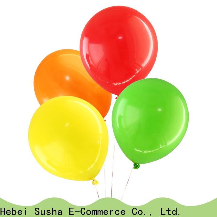 Susha romantic latex bubble balloons factory for celebration activities