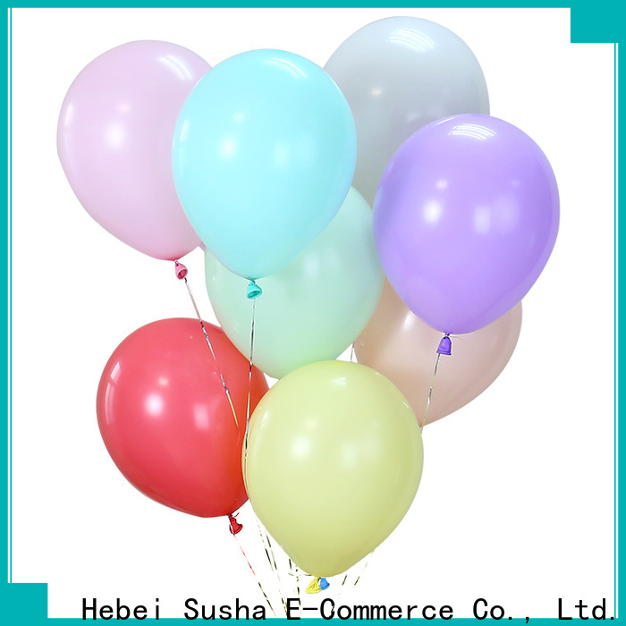 Susha Top latex heart balloons manufacturers for celebration activities