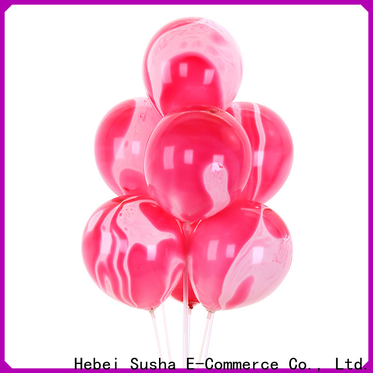 Susha Wholesale latex bubble balloons Supply for wedding