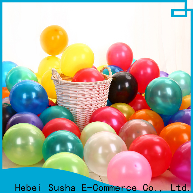 Wholesale latex balloons China factory for celebration activities