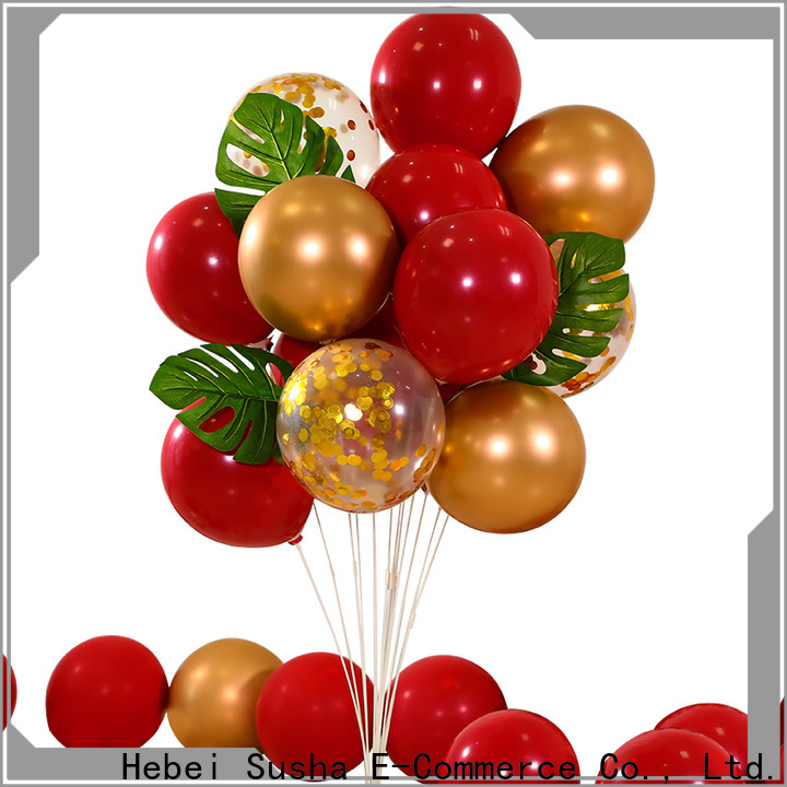 Susha Top printed latex balloons Suppliers for wedding