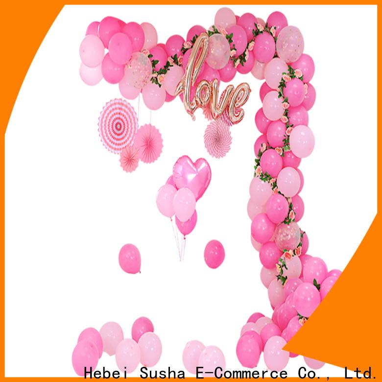 Wholesale balloon tie ribbon customization for birthday