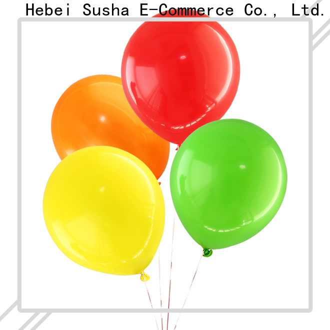 Susha latex confetti balloons Suppliers for birthday parties