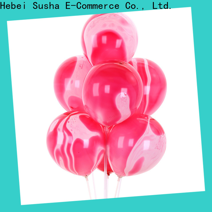 Susha Custom latex confetti balloons manufacture for celebration activities
