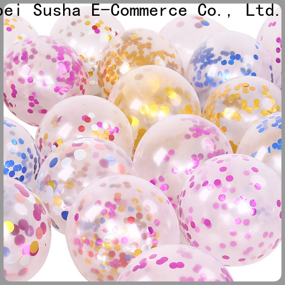 Susha latex wedding balloons for businessr for celebration activities