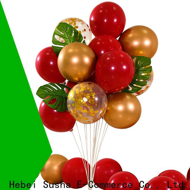 Susha romantic latex helium balloons company for celebration activities