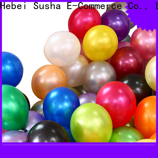 Susha High-quality latex shaped balloons China factory for wedding