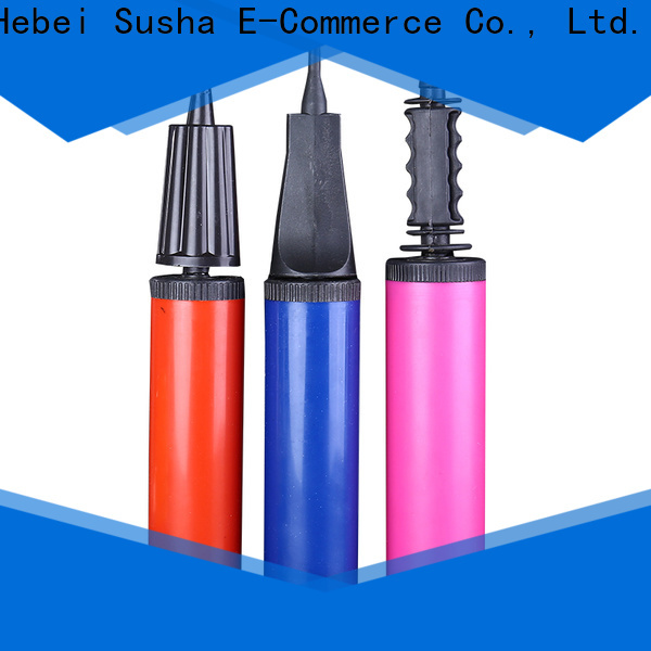 Susha accessories balloon ties clips factory for celebration activities