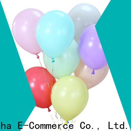 Susha romantic clear balloons company for birthday parties