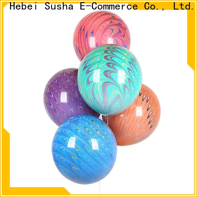 Susha latex wedding balloons Supply for celebration activities