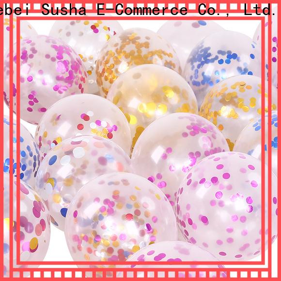 Susha round latex balloons Supply for celebration activities