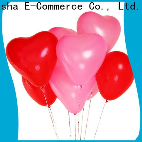 Custom plain balloons factory for birthday parties