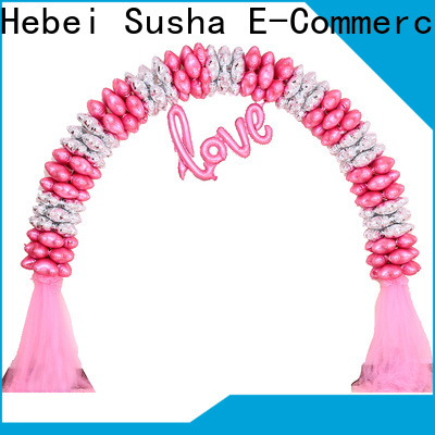 Susha 18th birthday party accessories factory for wedding