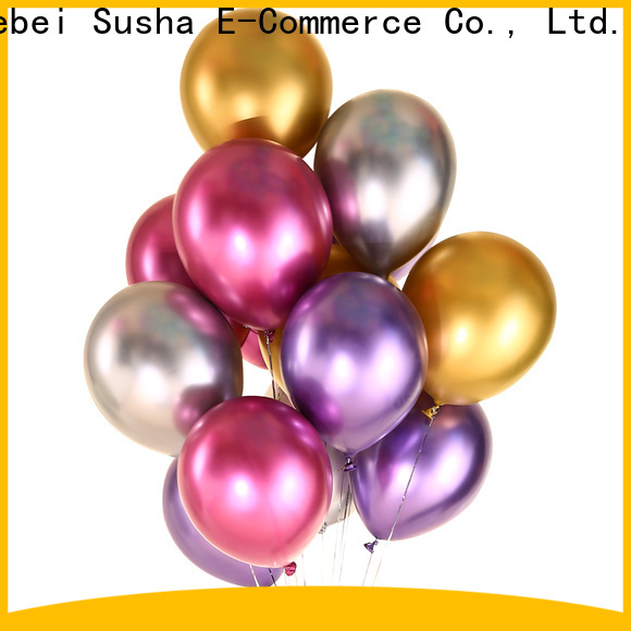 Susha heart shaped balloons factory for birthday parties