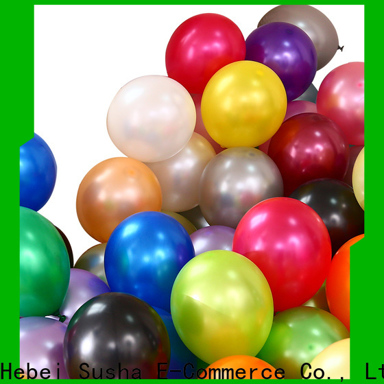 Susha plain balloons manufacture for birthday parties