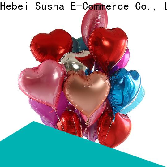 Susha ODM high quality aluminium foil balloon online for wedding