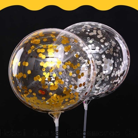 Susha Wholesale best gold latex balloons for businessr for wedding