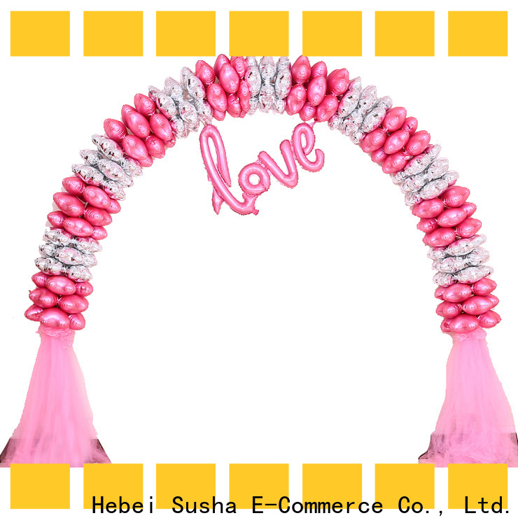 Susha Susha Balloon 18th birthday party accessories manufacturers for wedding