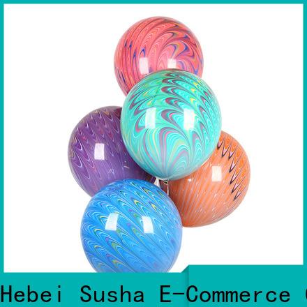 Susha heart-shaped party city latex balloons company for wedding