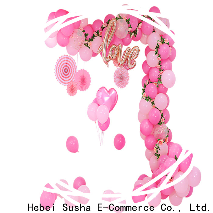 wedding decoration maxi balloon cups and sticks manufacturers for wedding