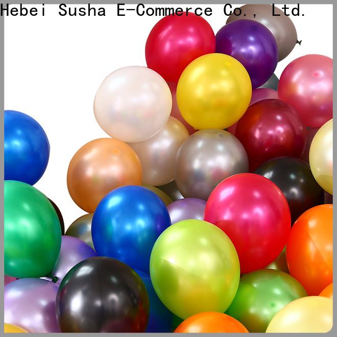 Custom happy birthday balloons for businessr for wedding