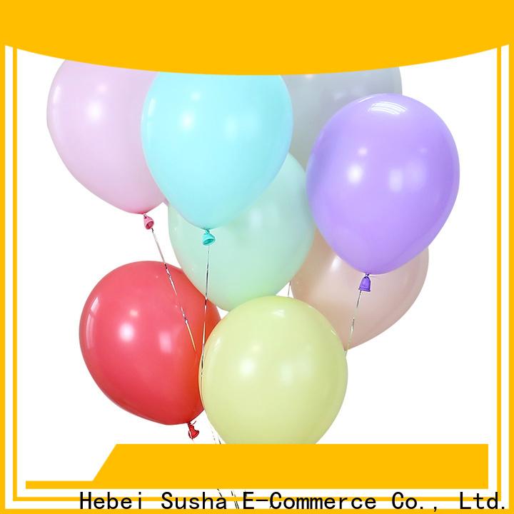 Susha confetti metallic balloons factory for celebration activities