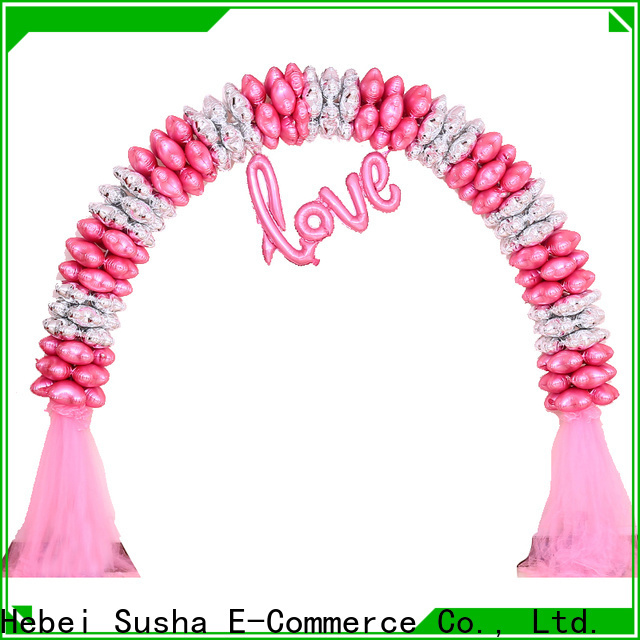 Susha acrylic balloon stands factory for wedding