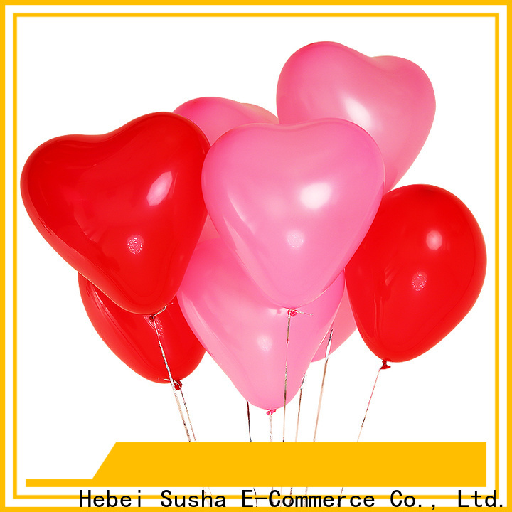 Susha gold confetti balloons China factory for wedding