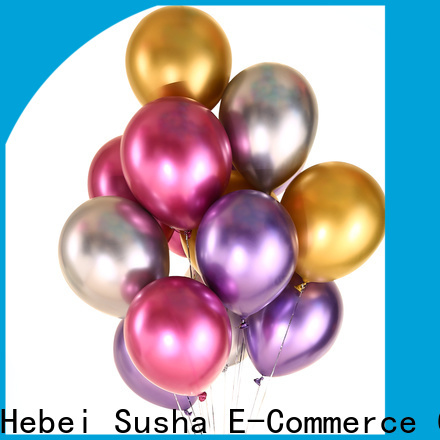 Susha Custom ODM aluminum balloons manufacturers for wedding