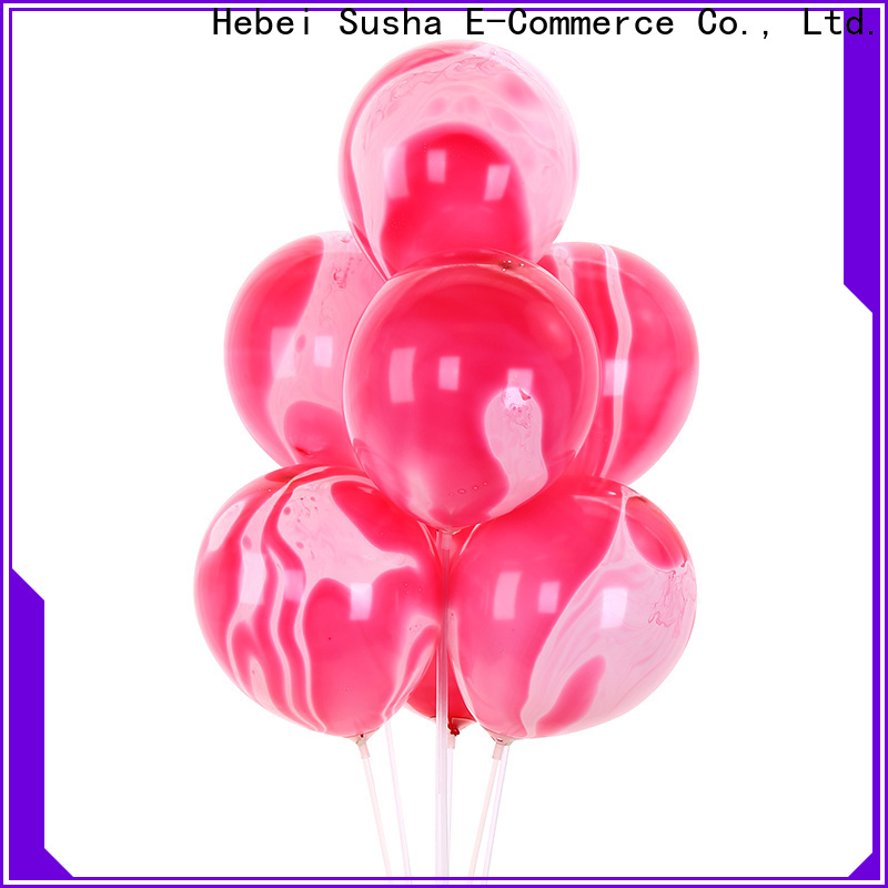 Latest clear balloons manufacturers for celebration activities