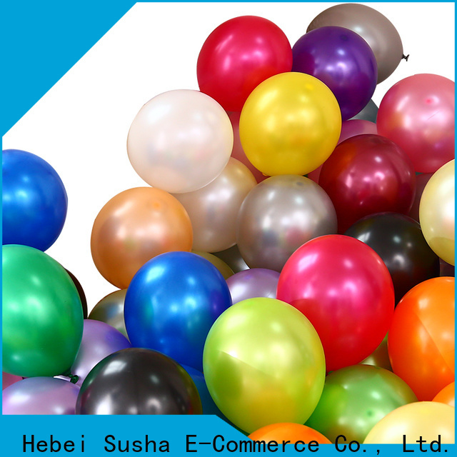 Wholesale best rainbow latex balloons factory for celebration activities