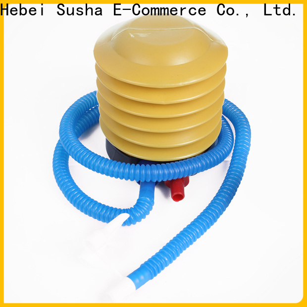 Susha Latest electric balloon air pump party city manufacturers for birthday