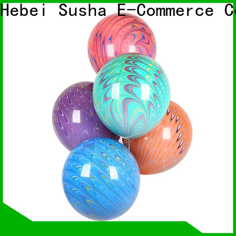 Susha romantic printed latex balloons Suppliers for birthday parties