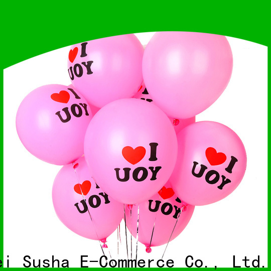 Susha Bulk purchase high quality heart balloons Suppliers for wedding