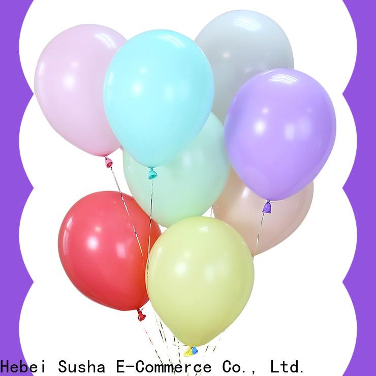 Susha Bulk purchase best latex bubble balloons company for celebration activities