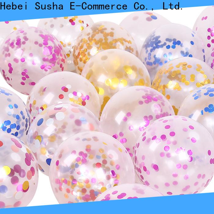 Susha Susha anniversary balloons for businessr for wedding