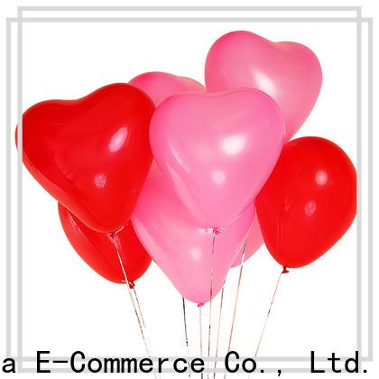 Bulk purchase maroon balloons China factory for wedding