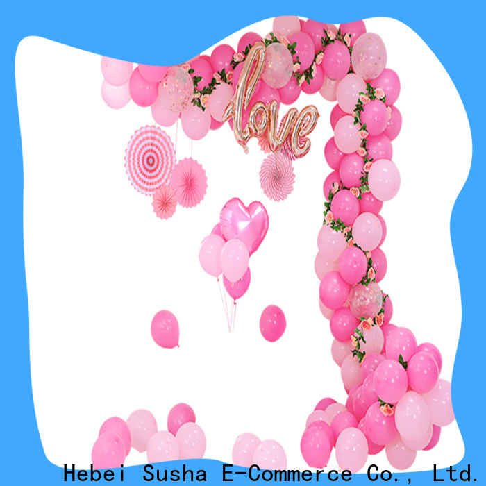Susha balloon floor stand Suppliers for celebration activities