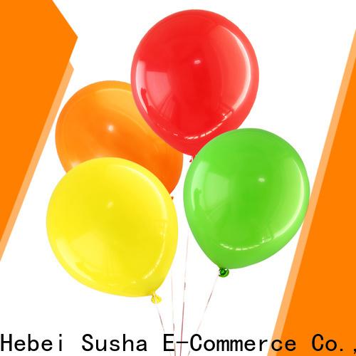 Susha Wholesale custom latex bubble balloons manufacture for celebration activities