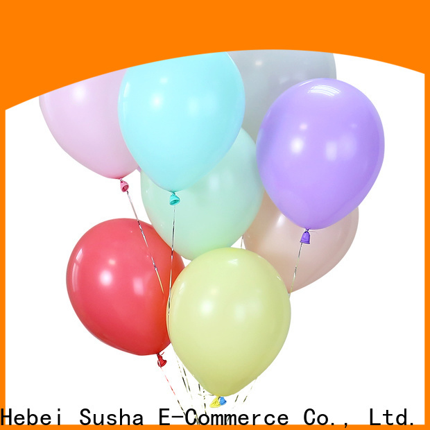 Susha Wholesale clear balloons Supply for birthday parties