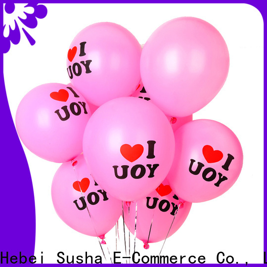 Wholesale custom metallic latex balloons for businessr for celebration activities