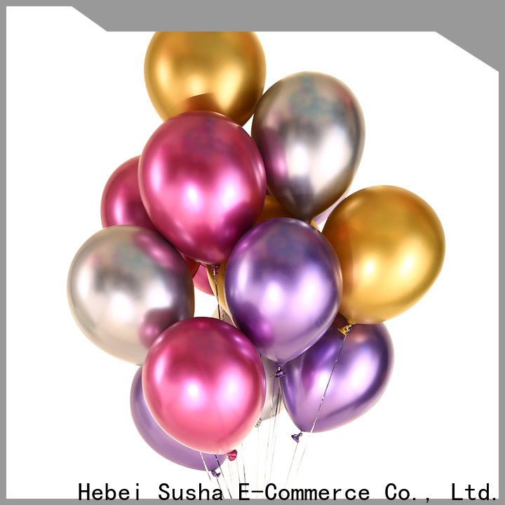 Bulk purchase best heart shaped balloons China factory for birthday parties