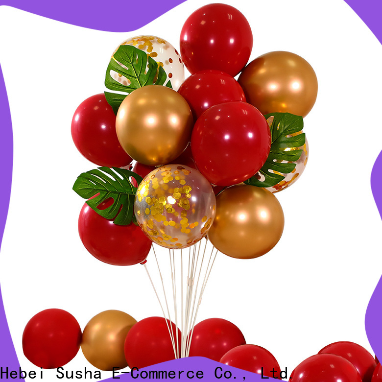 ODM high quality aluminum balloons factory for wedding