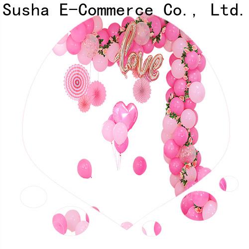 Susha Wholesale OEM handheld balloon pump factory price for celebration activities