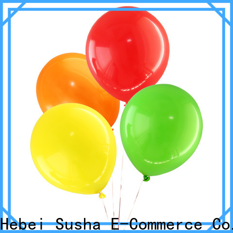 Susha OEM latex wedding balloons manufacturers for birthday parties