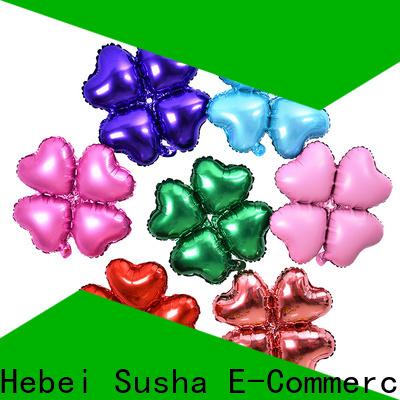 Custom OEM bing foil balloon company for anniversaries