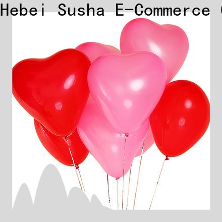 Susha round latex balloons China factory for wedding