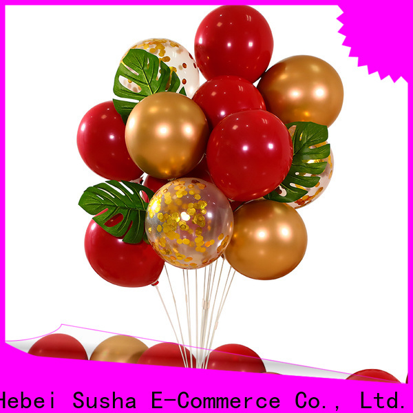 Susha OEM high quality personalized latex balloons for businessr for celebration activities