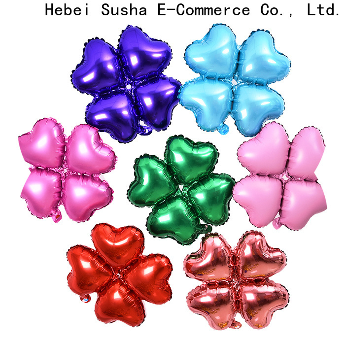 Susha helium foil number balloons Suppliers for anniversaries