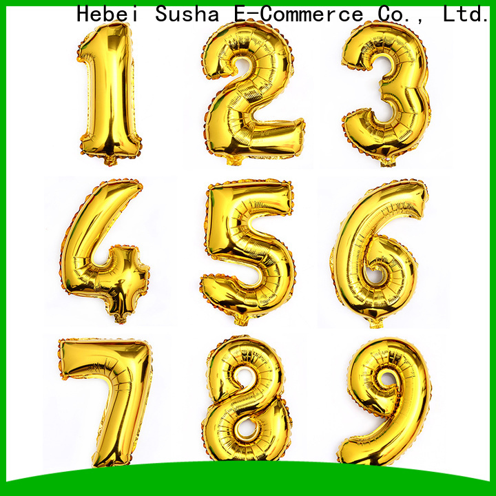 ODM high quality target foil balloons manufacturers for birthday
